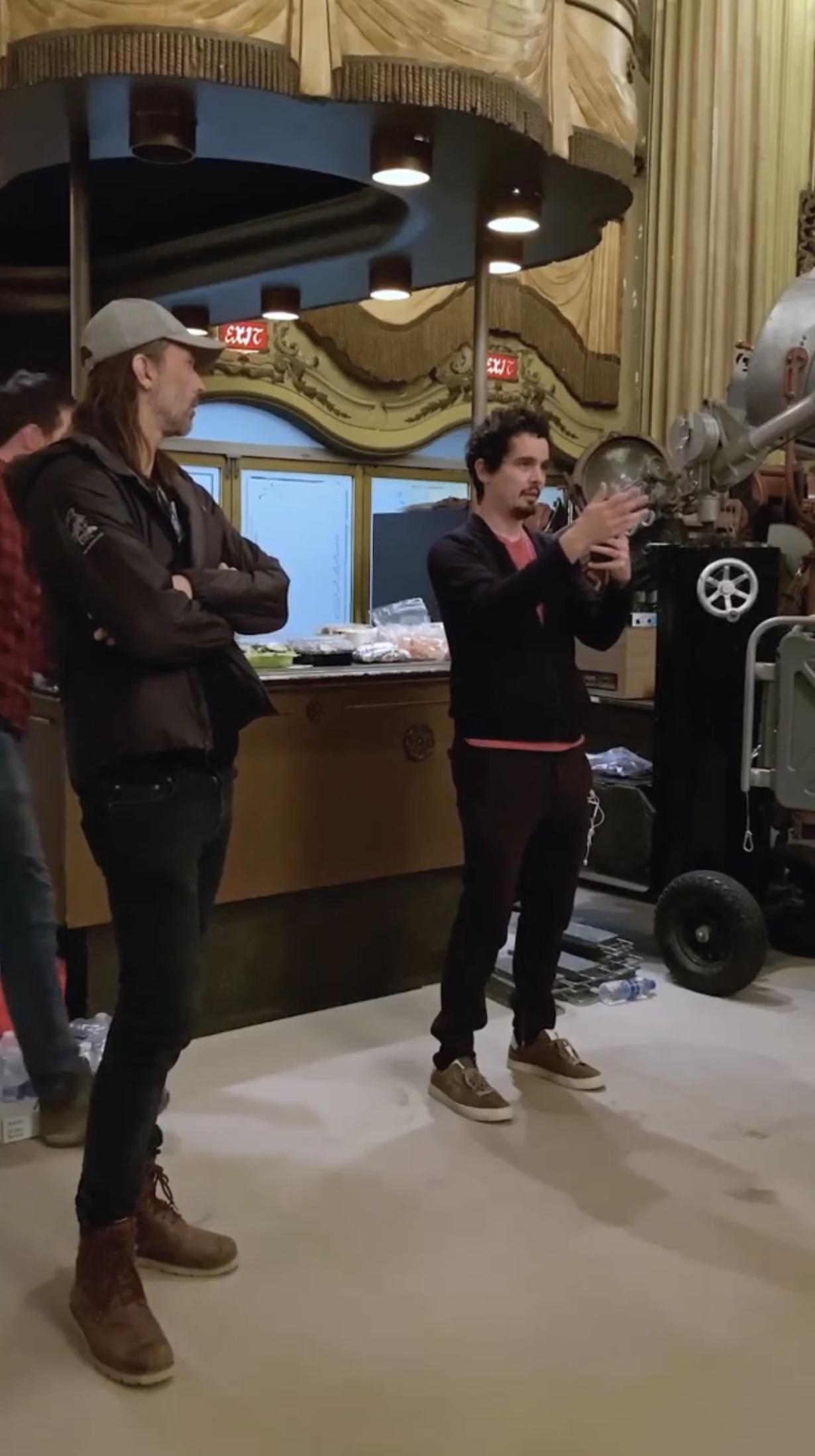 Фільм «Дублёр» (2020): Лайнес Сандгрен, Дем'єн Шазель 1230x2198
