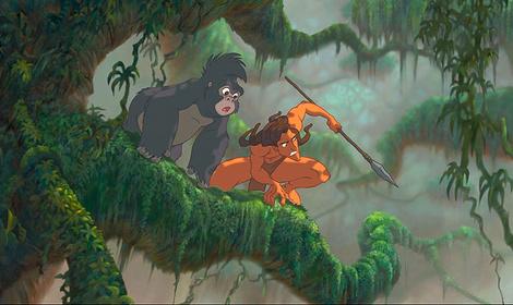 «Тарзан» — кадры