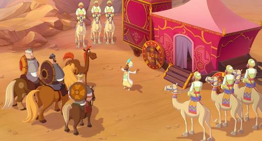 «Конь Юлий и большие скачки» — кадры