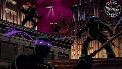 «Бэтмен против черепашек-ниндзя» — кадры