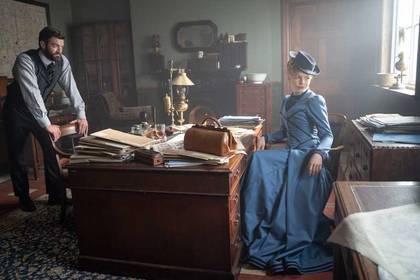 «Міс Скарлет та Герцог» — кадри