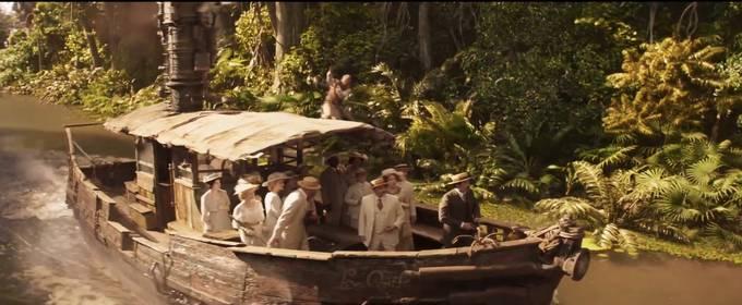 «Круиз по джунглям» — кадры