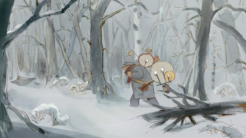 «Эрнест и Селестина: Приключения мышки и медведя» — кадры
